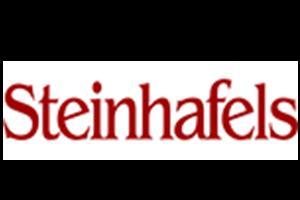 Steinhafels new site logo