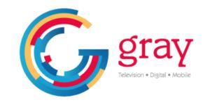 gray+television logo