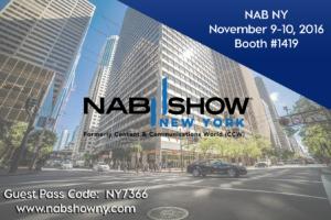 NAB Show NY 2016 Event Image