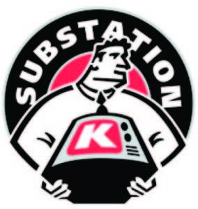 Substation K logo